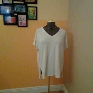 Style & Co. Off White Sweatshirt Size 1X.